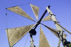 Bamboo water wheel Stock Image