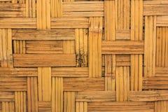 bamboo weave текстуры Стоковое Изображение RF