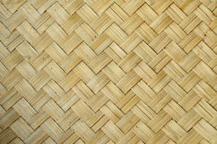 Bamboo Weave. Pattern in Lanna Thai Style Royalty Free Stock Images