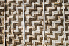 Bamboo weave Royalty Free Stock Image
