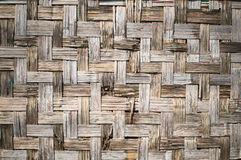 Bamboo weave Stock Image
