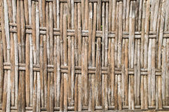 Bamboo weave. The abstract background from the bamboo weave Royalty Free Stock Photo