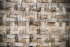 Bamboo weave. The abstract background from the bamboo weave Stock Photo