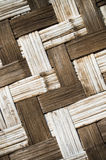 Bamboo weave. The abstract background from the bamboo weave Royalty Free Stock Images