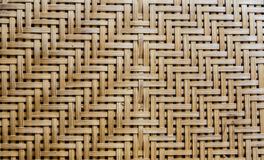Bamboo weave as background Stock Image