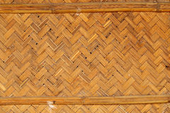 Bamboo weave for background Royalty Free Stock Photography