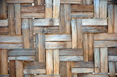 Bamboo weave background Royalty Free Stock Images