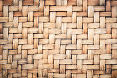 Bamboo weave background Stock Photography