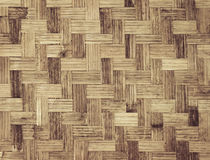 Bamboo weave background Royalty Free Stock Photos