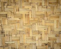 Bamboo weave background. Texture background of bamboo weave pattern Stock Photo
