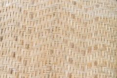 Bamboo Weave background. In thailand Stock Photography