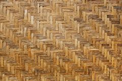Bamboo weave background, bamboo wood texture. Bamboo wicker background, bamboo wood texture. Fence Stock Photography