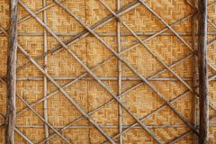 Bamboo weave background, bamboo wood texture. Bamboo wicker background, bamboo wood texture. Fence Stock Photo