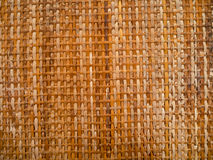 Bamboo weave for background. Yellow Brown Bamboo weave for background Royalty Free Stock Photo