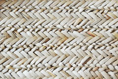 Bamboo weave bag texture and background Royalty Free Stock Photography