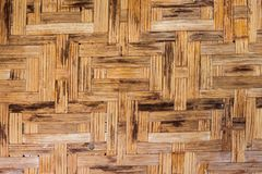 Bamboo weave coatings wood stain background. Close up bamboo weave coatings wood Stain background stock images