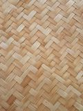 Bamboo. Weave mat Royalty Free Stock Photography