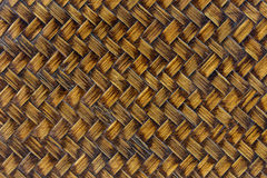 Bamboo weave pattern. The Bamboo weave pattern background Royalty Free Stock Photos