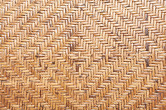 Bamboo weave pattern background Stock Image