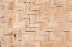 Bamboo weave pattern,Bamboo wood texture. For background Stock Photography