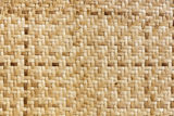 Bamboo weave pattern. Bamboo weave craft handmade in thailand , pattern background texture Royalty Free Stock Photography
