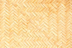 Bamboo weave pattern Royalty Free Stock Photos