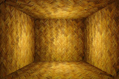 Bamboo weave room Royalty Free Stock Photos