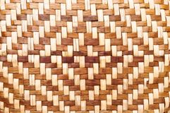 Bamboo weave screen Royalty Free Stock Photography