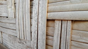 Bamboo weave shelter Royalty Free Stock Photos