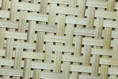 Bamboo weave surface. Royalty Free Stock Photo