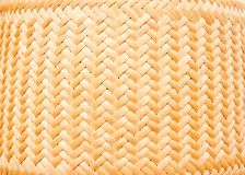 Bamboo weave texture Royalty Free Stock Image