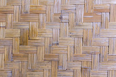 Bamboo weave texture Royalty Free Stock Photo