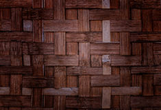 Bamboo weave texture background. Royalty Free Stock Image