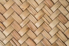 Bamboo weave texture Stock Photography
