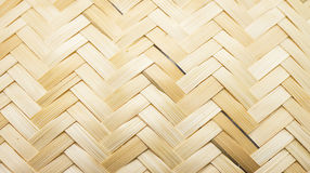 Bamboo weave texture. Made in thailand Royalty Free Stock Photos