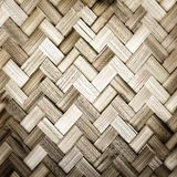 Bamboo weave texture Royalty Free Stock Photos