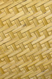 Bamboo weave. The Bamboo weave texture pattern background Royalty Free Stock Photos
