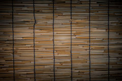 Bamboo weave texture pattern background Stock Image