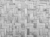 Bamboo weave wall background Stock Photo