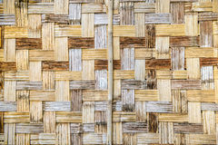 Bamboo weave wall Royalty Free Stock Photography