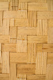 Bamboo weave wall Stock Images