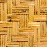 Bamboo weave wall Royalty Free Stock Photos