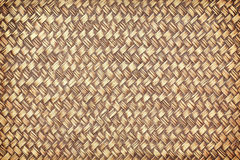 Bamboo weave with waterproofing. The Bamboo weave with enamel waterproofing Stock Photo