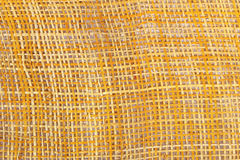 Bamboo weave on white background Stock Images