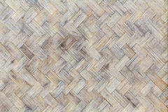 Bamboo weave wood from handmade crafts basket. Stock Photography