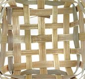 Bamboo Weaving Pattern Stock Photography