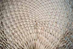 Bamboo Weaving Patterns royalty free stock photography