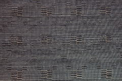 Bamboo weaving tablecloth Stock Photo