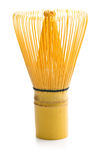 Bamboo whisk for matcha tea. Stock Photography