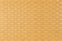 Bamboo wicker pattern as background. Extreme closeup royalty free stock image